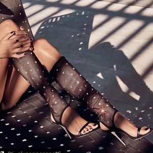 Giuseppe Zanotti Shoes - giuseppe zanotti • NEW • high mesh crystal heels